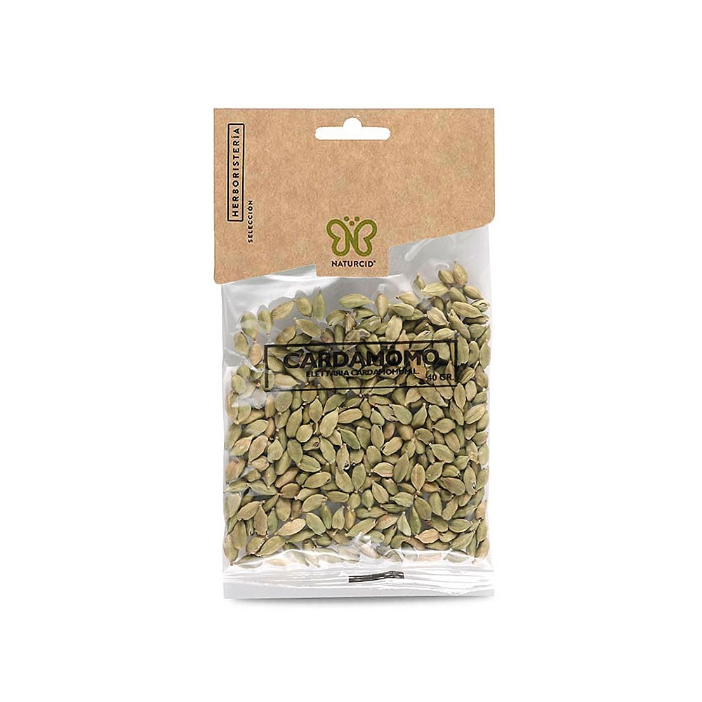 Cardomomo (Elettaria Cardamomum) 40g de Naturcid Naturcid S.L. 14164 Plantas Medicinales salud.bio