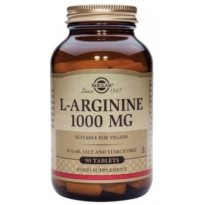 L-Arginina 1000 mg. en comprimidos  de Solgar