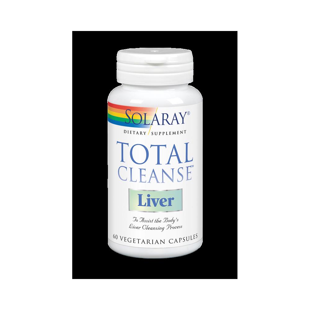 Total Cleanse Liver™ 60 VegCaps. de Solaray SOLARAY 8363 Higado y sistema hepatobiliar salud.bio