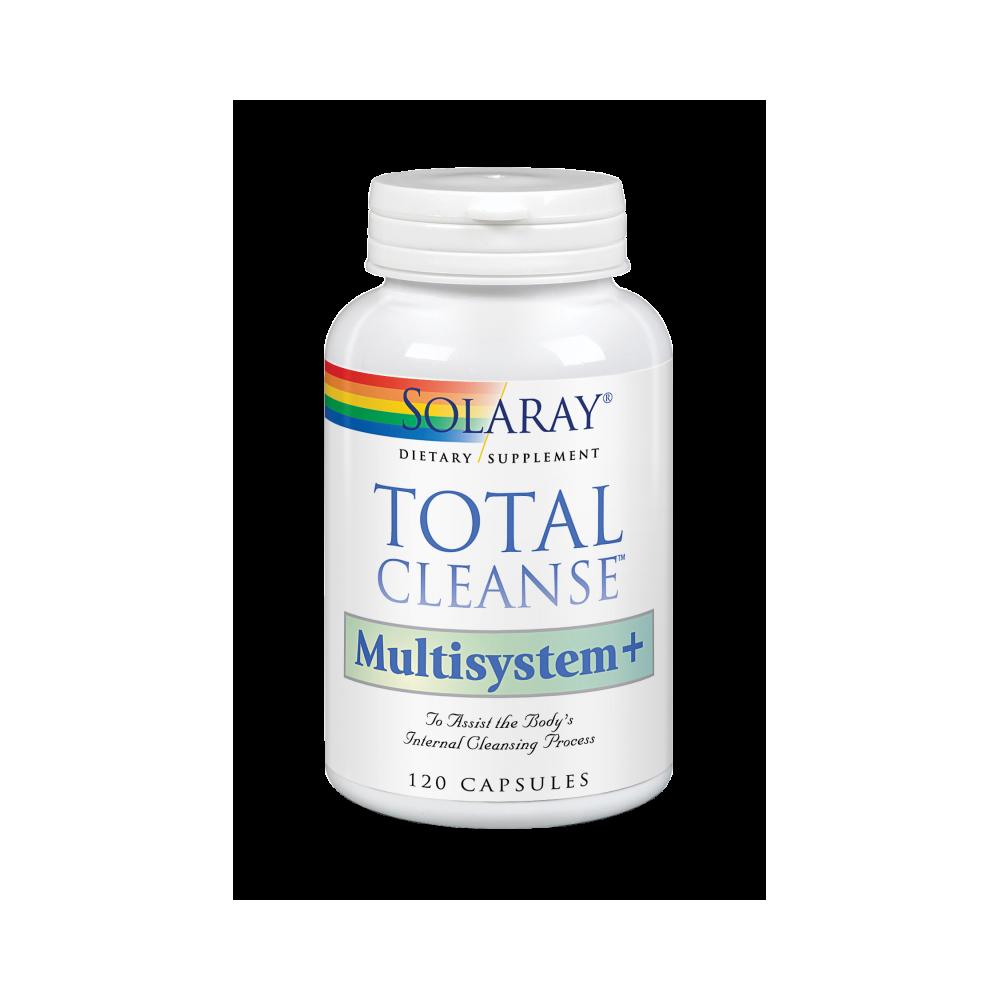 Total Cleanse™ Multisystem 120 cápsulas de Solaray SOLARAY 8370 Higado y sistema hepatobiliar salud.bio