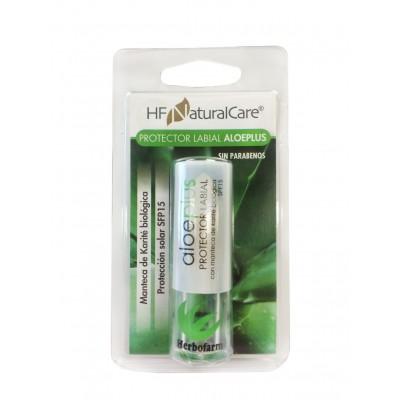 Protector labial Aloeplus SFP15 de HFNatureCare Herbofarm HNN021 Inicio salud.bio