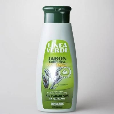 Jabón Corporal Con Avena 400ml LÍNEA VERDE de D´Shila D´Shila 5403010400 Cosmética Natural salud.bio