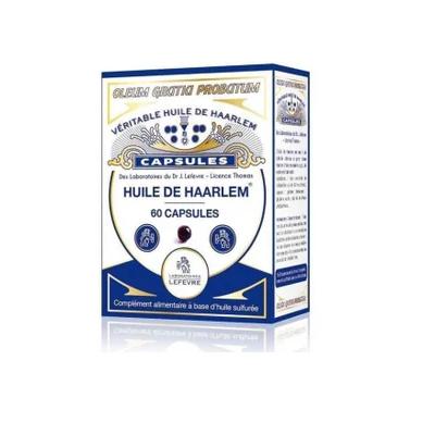 Aceite de Haarlem 60 perlas original  3401597816604 Aceites esenciales uso interno salud.bio