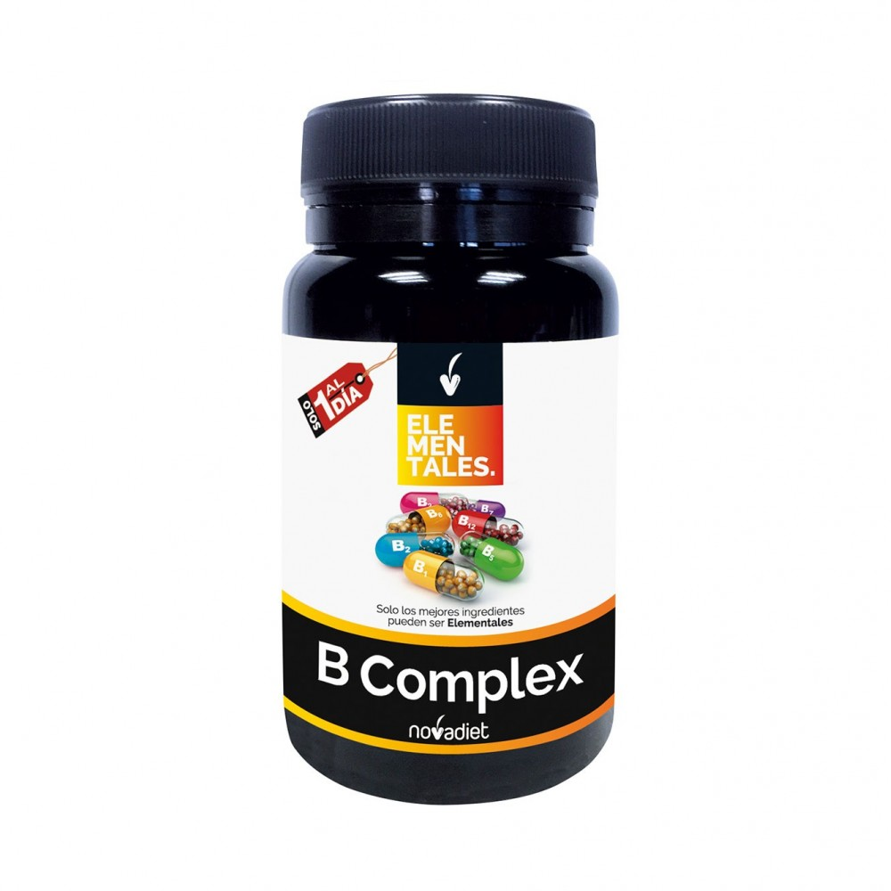 Vitamina B Complex (elementales) de Novadiet Novadiet 53528 Vitamina B salud.bio