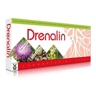 Drenalin Ampollas 10x 10ml de Tegor Tegor T30347 Control de Peso salud.bio