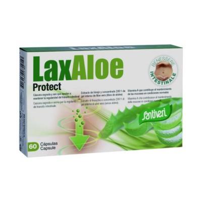 LaxAloe Protec 60 cápsulas de Santiveri Santiveri  59650001 Laxantes salud.bio