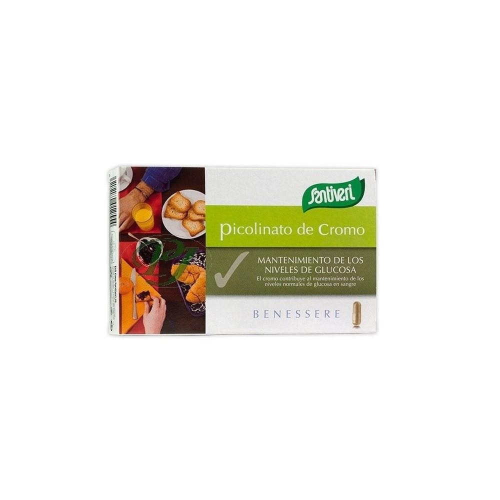 Picolinato de Cromo 200mcg (40 cápsulas) de Santiveri Santiveri  39440002 Inicio salud.bio