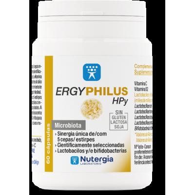 ERGYPHILUS HPy Probióticos para el equilibrio de la mucosa gástrica de Nutergia Nutergia 8436031734256 Ayudas aparato Digesti...