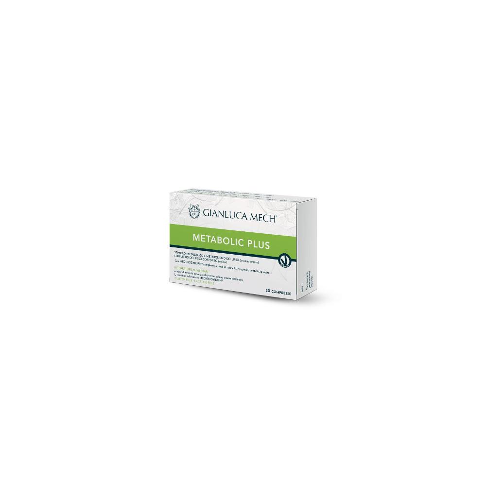 Metabolic Plus de Gianluca Mech GIANLUCA MECH GFI30C2100 Ayuda Glucemia y Diabetes salud.bio