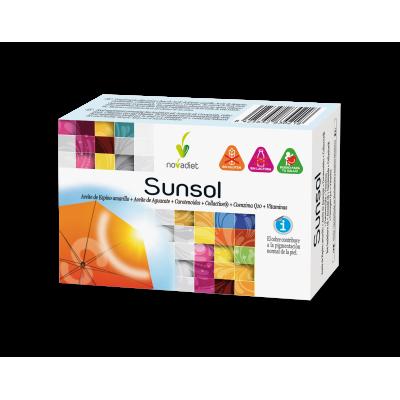 Sunsol de Novadiet Novadiet  Antioxidantes salud.bio