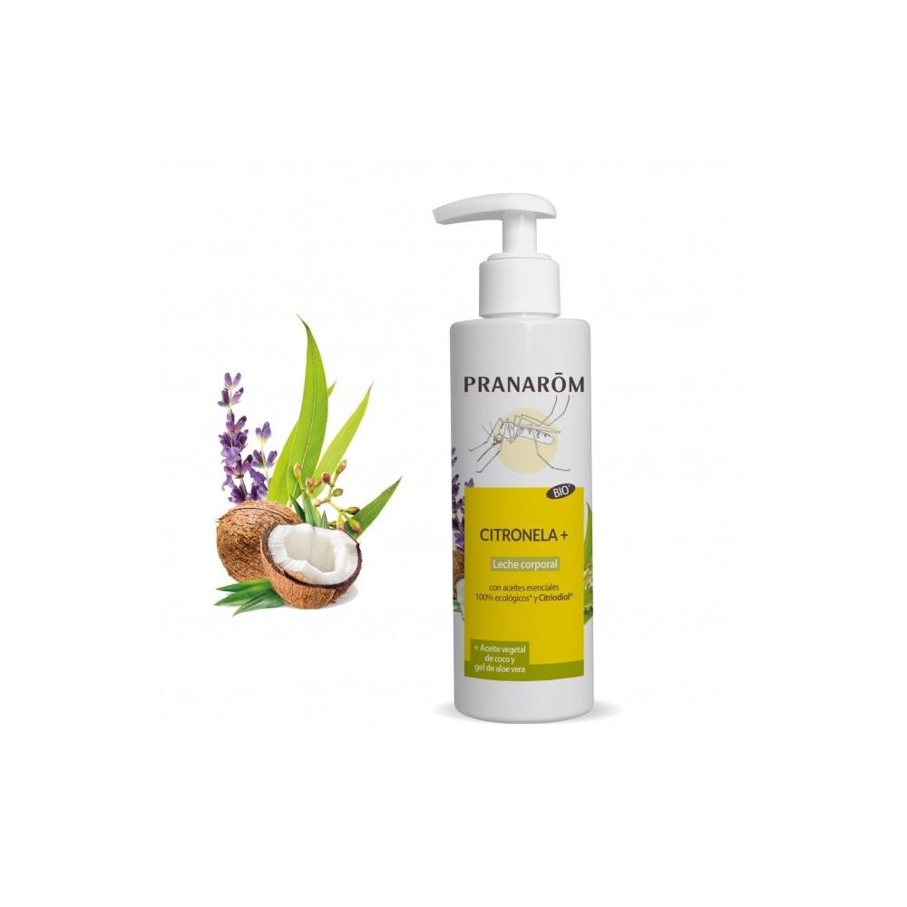 Citrolela + Leche corporal 200 ml de Pranarôm Pranarom 2217916 Aceites esenciales uso topico salud.bio