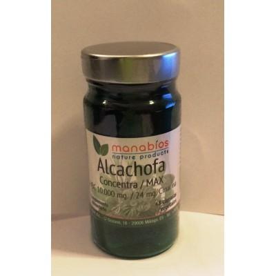 Alcachofa Concentracón máxima 10.000 mg, 48 cápsulas de Manabios Manabios 111202 Inicio salud.bio