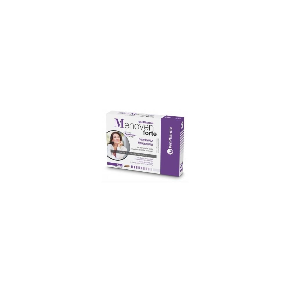 Menoven Forte 30 comprimidos de Venpharma VenPharma 551080 Menopausia salud.bio