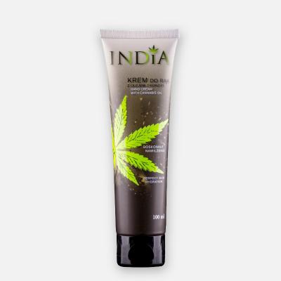 Crema de Manos de aceite de cañamo 100ml de India Lab India Labs Cosmetic and Dood  281446 Cosmética Natural salud.bio