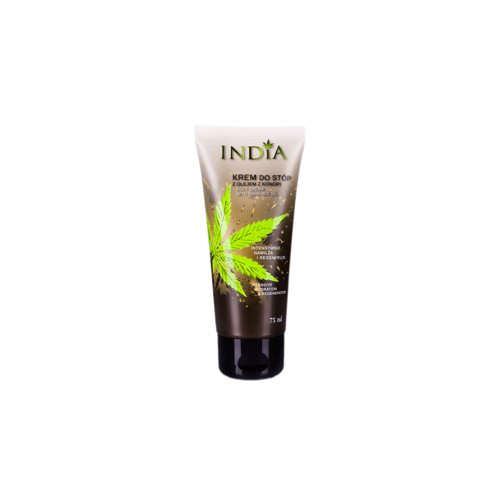Crema de Pies de aceite de cañamo 75ml de India Lab India Labs Cosmetic and Dood  310454 Cosmética Natural salud.bio