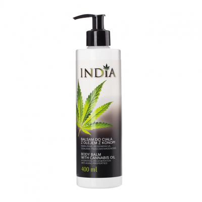 Bálsamo Corporal 400 ml. aceite de cañamo de India Lab India Labs Cosmetic and Dood  5901138249642 Cosmética Natural salud.bio