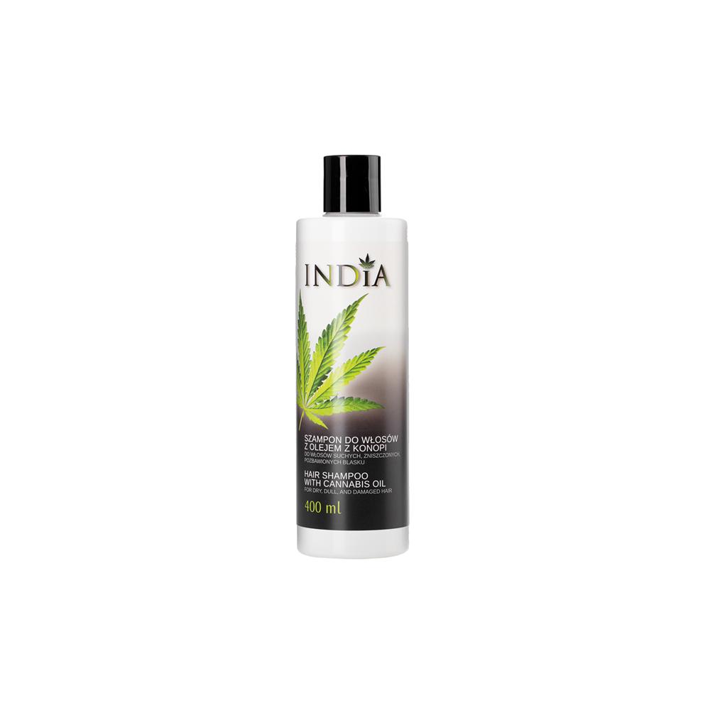 Champú 400 ml. aceite de cañamo de India Lab India Labs Cosmetic and Dood  5901138249659 Cosmética Natural salud.bio