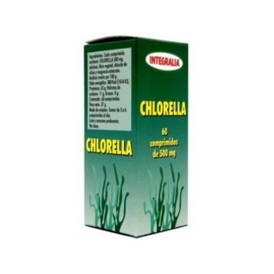 Chlorella 60 comprimidos de Integralia INTEGRALIA 90 Higado y sistema hepatobiliar salud.bio