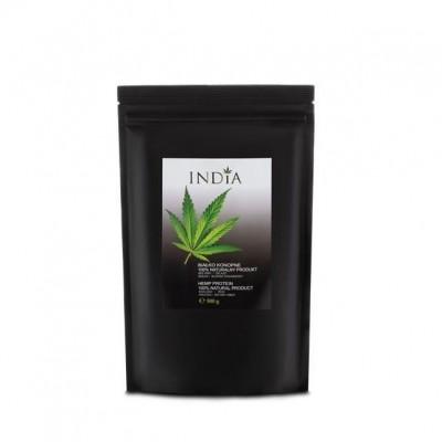 Proteina de semillas de Cáñamo 500gr. de India lab India Labs Cosmetic and Dood  5903707352111 Proteinas salud.bio