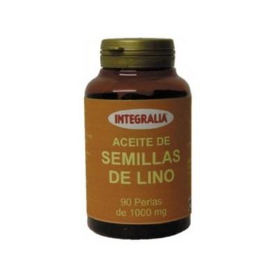 Aceite de Semillas de Lino  90 perlas  de Integralia