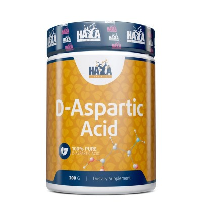 Ácido D-Aspártico puro 100% 200g de Haya Haya Labs LLC 16322 Gainers: Los Mejores Suplementos Para Ganar Masa Muscular salud.bio