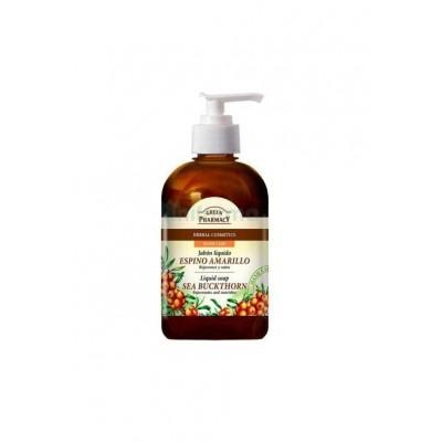 Jabón líquido de manos espino amarillo de Green Pharmacy Sante Naturkosmetik  50506 Cuidado externo e higiene salud.bio
