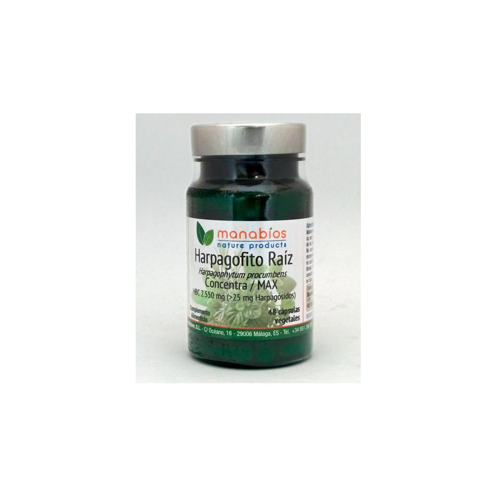 Harpagofito MAX 2.550 mg de Manabios Manabios MAN-111215 Suplementos Naturales acción Analgesica, Antiinflamatoria, malestar,...