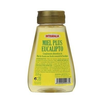 Miel Plus Eucalipto de Integralia. 225 gr.