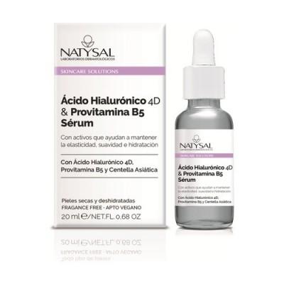 Sérum Ácido Hialurónico 4D y Provtamina B5 20ml Skincare Solutions de Natysal Natysal NAT-13590 Cosmética Natural salud.bio