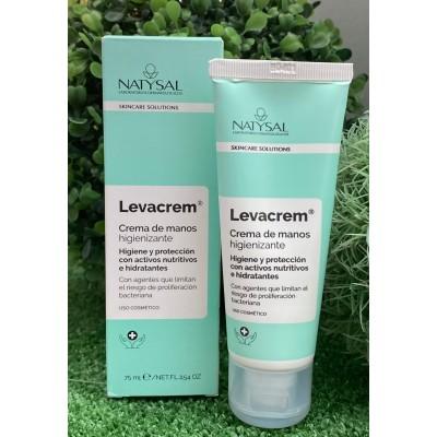 Crema Higienizante de manos 75ml LEVACREM de Natysal Natysal NAT-13628 Uso tópico salud.bio