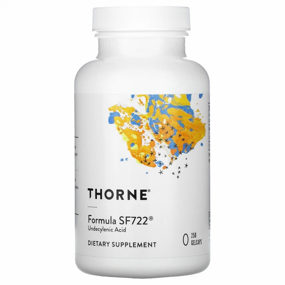 Formula SF722, 250 cápsulas blandas de Thorne Research Thorne Research THR-72201 Ayudas aparato Digestivo salud.bio