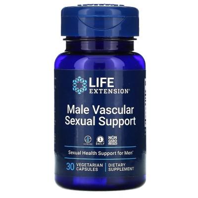 Refuerzo sexual vascular para hombres, 30 cápsulas vegetales de Life Extension LifeExtension LEX-22093 Libido hombre y mujer ...