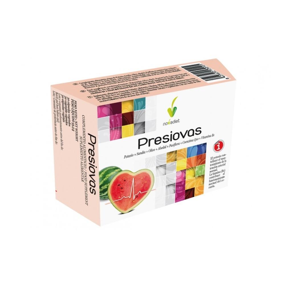 Presiovas 60 capsulas vegetales de Novadiet