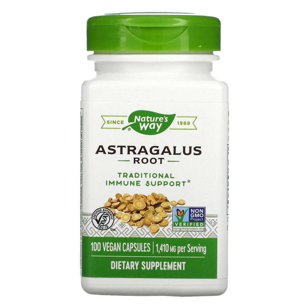 Astragalus Root, 1,410 mg , 100 Vegan Capsules de Nature's Way Nature`s Way NWY-10180 Sistema inmunitario salud.bio