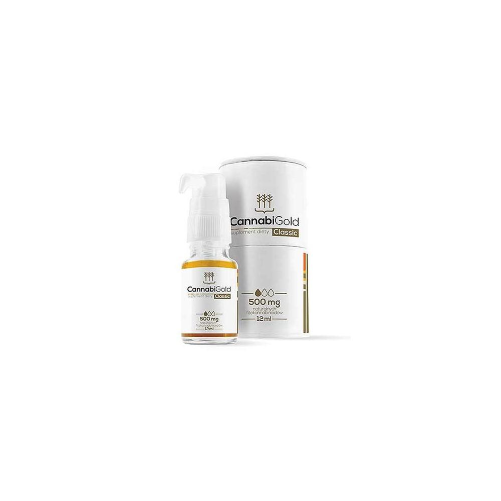 CannabiGold CBD Oil 12ml Classic 5% de HemPoland Cannabigold de HemPoland HEM-2924 Plantas Medicinales salud.bio