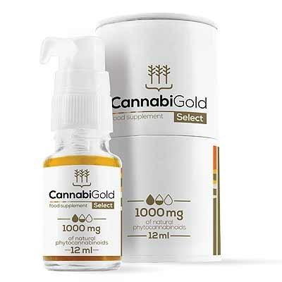 CannabiGold CBD Oil 12ml Balance 10% de HemPoland Cannabigold de HemPoland HEM-2925 Plantas Medicinales salud.bio