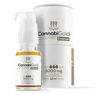 CannabiGold CBD Oil 12ml Intensive 30% de HemPoland Cannabigold de HemPoland HEM-2927 Plantas Medicinales salud.bio