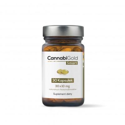 CannabiGold Smart CBD perlas de aceite en 10 mg de HemPoland Cannabigold de HemPoland HEM-2929 Plantas Medicinales salud.bio