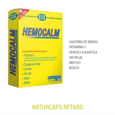 HEMOCALM RETARD (30 NATURCAPS) de ESI ESI LABORATORIOS 49010101 Ayudas aparato Digestivo salud.bio