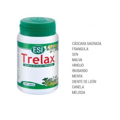 Trelax 100 Comprimidos de ESI Laboratorios Dimecat ESI-17010501 Laxantes salud.bio