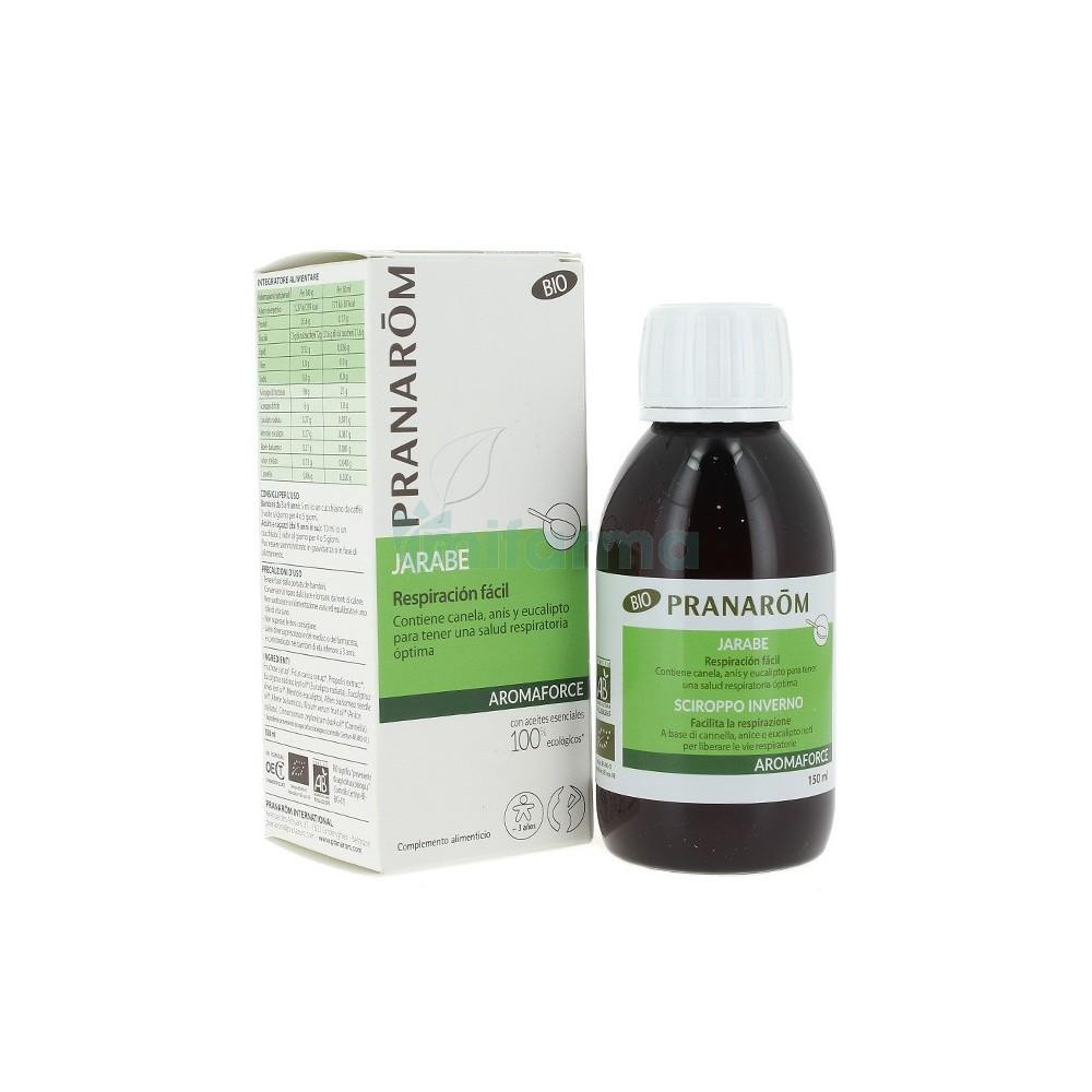 Pranaforce Jarabe Invierno 150ml de Pranarom Pranarom  Sistema inmunitario salud.bio