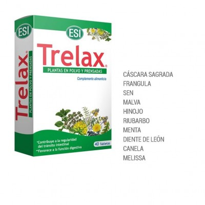 Trelax 40 Comprimidos de ESI Laboratorios Dimecat ESI-17010401 Laxantes salud.bio