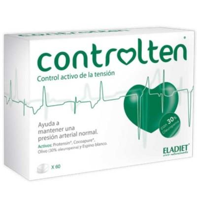 CONTROLTEN ELADIET 60 Comprimidos ELADIET Elaborados Dieteticos, s.a. PA.FE.CTEN Ayuda control Tension salud.bio