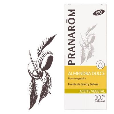 Aceite de Almendras dulces 50ml Bio de Pranaróm Pranarom  Uso tópico salud.bio