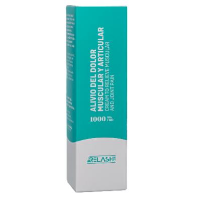 Crema Alivio dolor muscular y articular de CBD 1000mg de Relash lab Relash Lab 8425402748695 Plantas Medicinales salud.bio