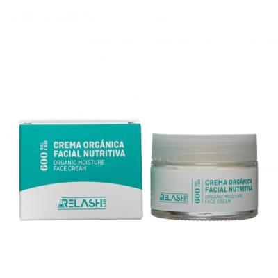 Crema Orgánica Facial Nutritiva de CBD 600mg de Relash lab Relash Lab 8425402748701 Cosmética Natural salud.bio