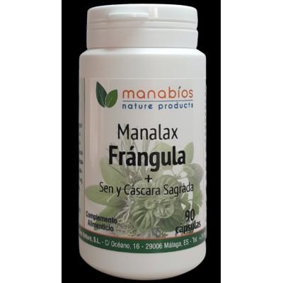 MANALAX Frángula + Sen y Cáscara Sagrada de Manabios Manabios 111490 Laxantes salud.bio