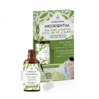 MICOESENTIAL Arbol Del Te & Manuka de Esential'aroms Esential´aroms INT-50339 Aceites esenciales uso topico salud.bio