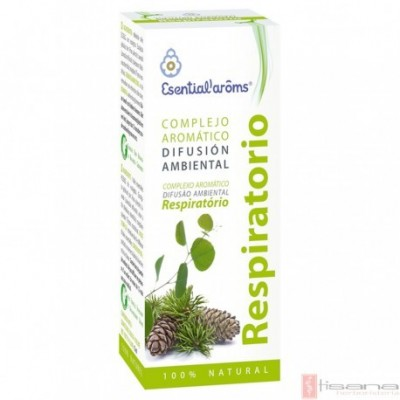 Complejo Respiratorio 15ml a base de Aceites esenciales de Esential'Aroms INTERSA 50023 Inicio salud.bio