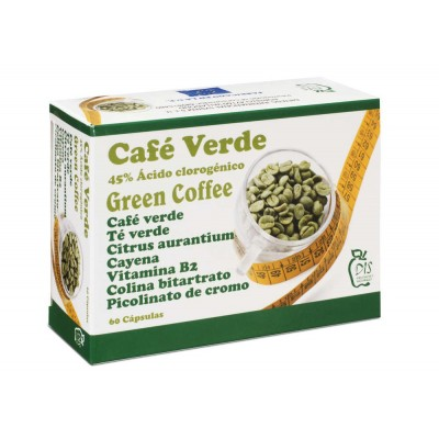 Café Verde 60 Cápsulas de DIS DIS Dietetic International System, s.l.u. 308 Inicio salud.bio